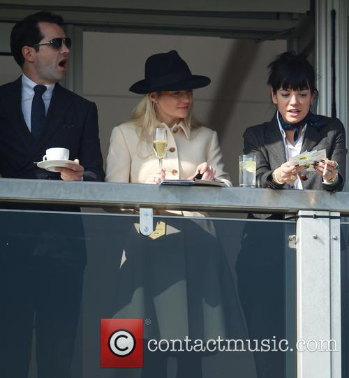Lily Allen and Jimmy Carr 8