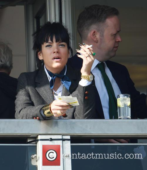 Lily Allen and Sam Cooper 8