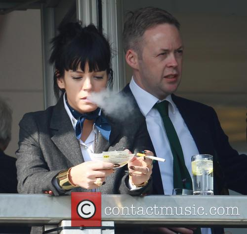 Lily Allen and Sam Cooper 1
