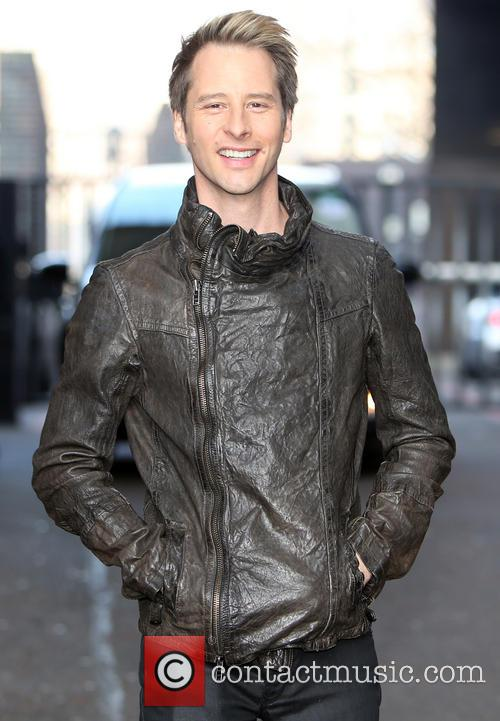chesney hawkes celebrities at the itv studios 4109546