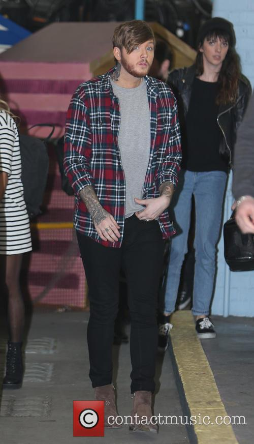 james arthur celebrities at the itv studios 4109739