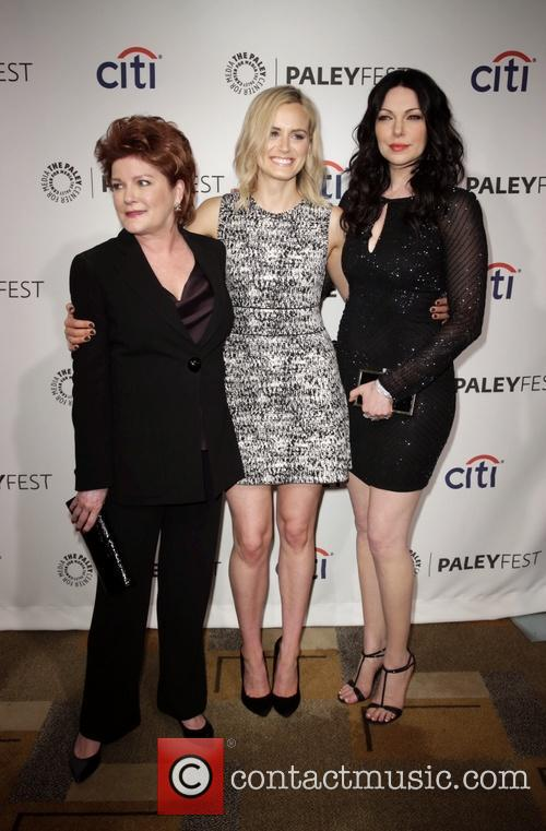 Kate Mulgrew, Taylor Schilling and Laura Prepon 3