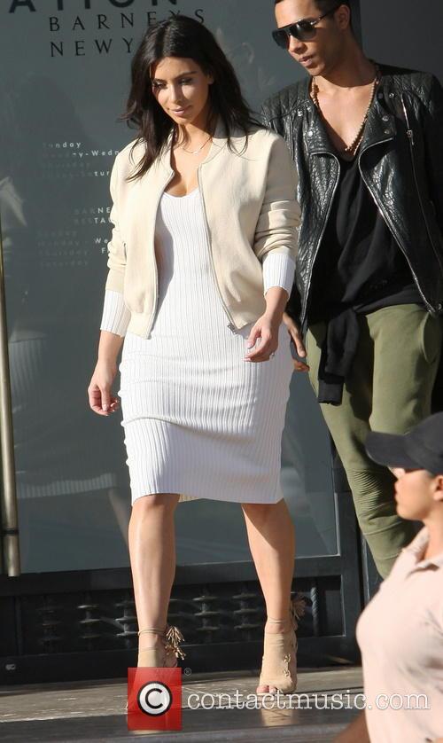 Kim Kardashian and Olivier Rousteing 7
