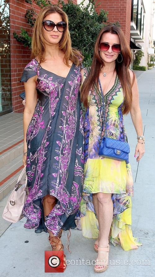 Amy Rose and Kyle Richards 2