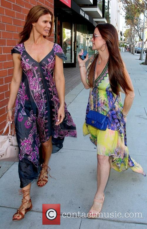 Amy Rose and Kyle Richards 6