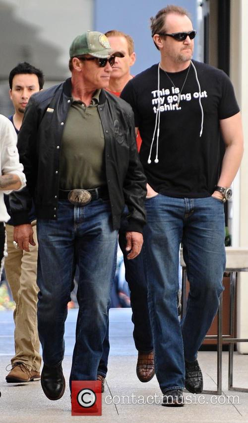 Arnold (MO) United States  City new picture : Arnold Schwarzenegger Arnold Schwarzenegger dines out at Caffe Roma ...
