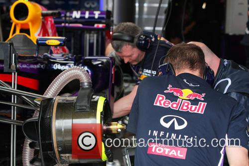 Mechanics At Team Red Bull Racing 6