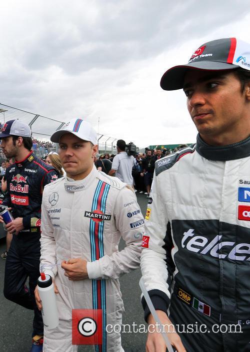Valtteri Bottas, Esteban Gutiérrez and (gutierrez) 2