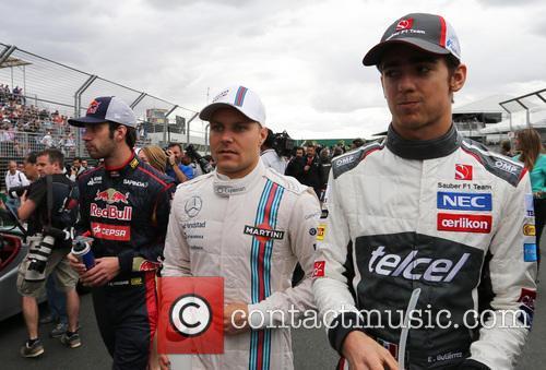 Valtteri Bottas, Esteban Gutiérrez and (gutierrez) 6