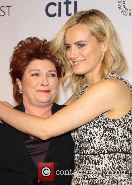 Kate Mulgrew and Taylor Schilling 3
