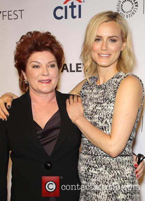 Kate Mulgrew and Taylor Schilling 4