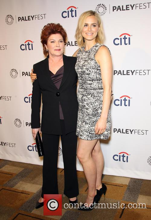 Kate Mulgrew and Taylor Schilling 5