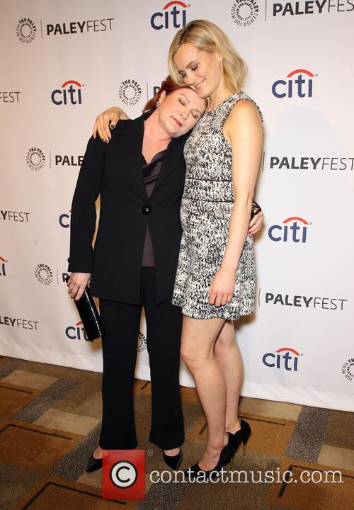 Kate Mulgrew and Taylor Schilling 7