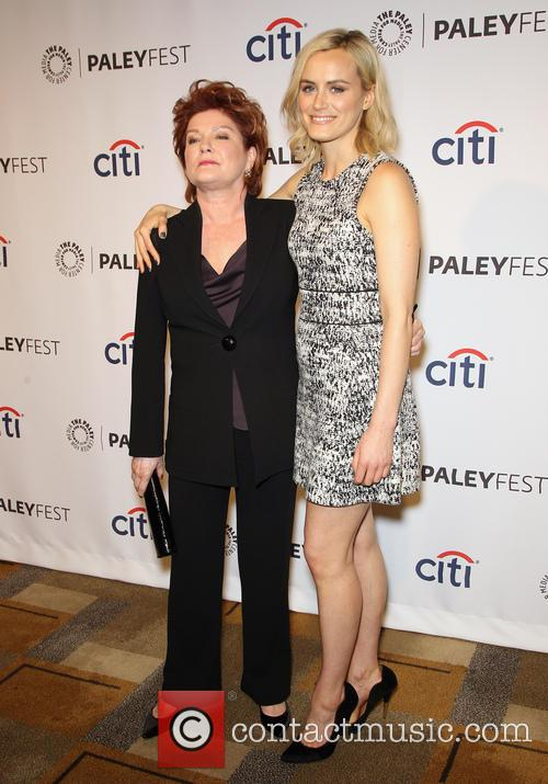 Kate Mulgrew and Taylor Schilling 8