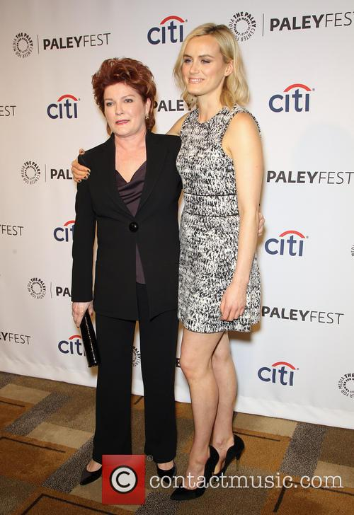 Kate Mulgrew and Taylor Schilling 9