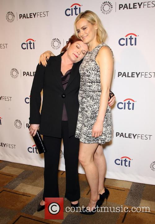 Kate Mulgrew and Taylor Schilling 11