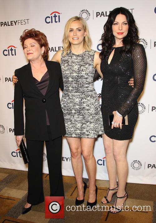 Kate Mulgrew, Taylor Schilling and Laura Prepon 6