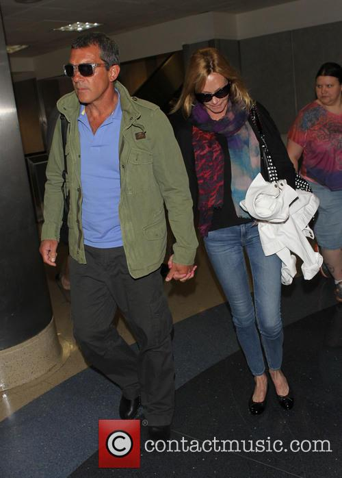 Antonio Banderas and Melanie Griffith 4