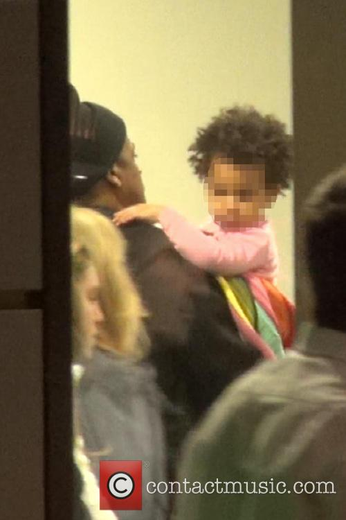 Beyonce, Jay Z and Blue Ivy 3