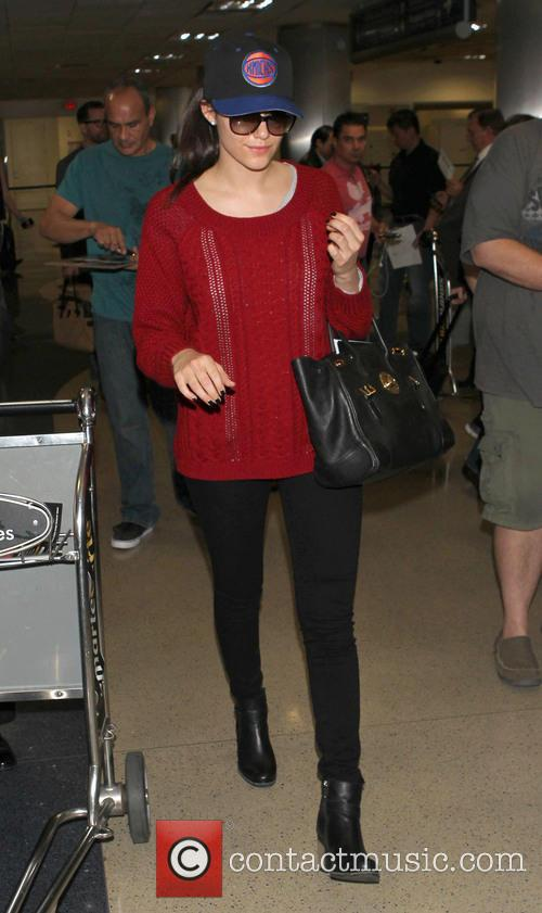 Emmy Rossum, Los Angeles International Airport (LAX)