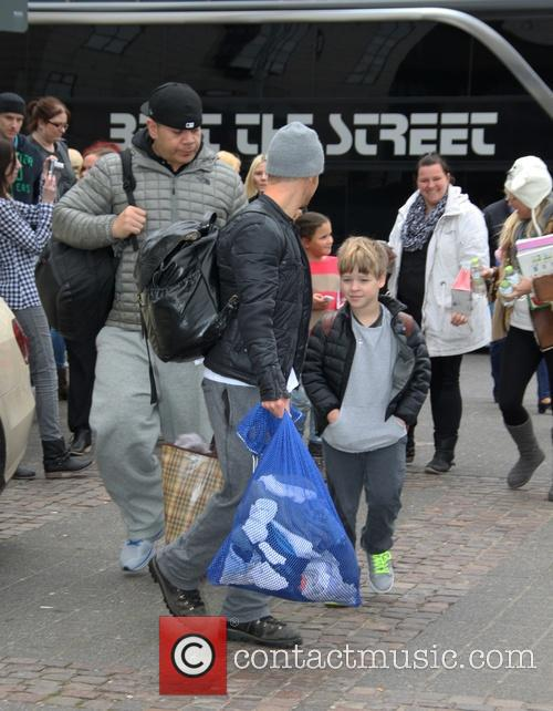 Brian Littrell and Baylee Thomas Wylee Littrell 2
