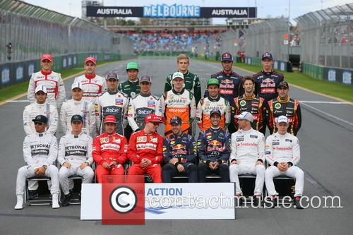 Sebastian Vettel, Ger, Daniel Ricciardo and Aus 1