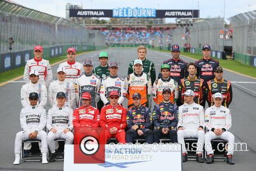 Sebastian Vettel, Ger, Daniel Ricciardo and Aus 2