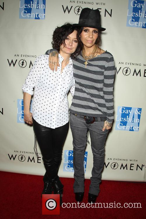 Sara Gilbert and Linda Perry 1