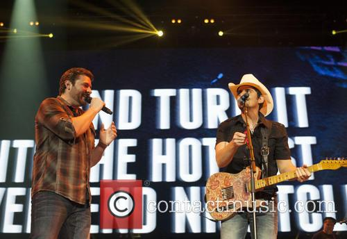 Brad Paisley and Chris Young 7