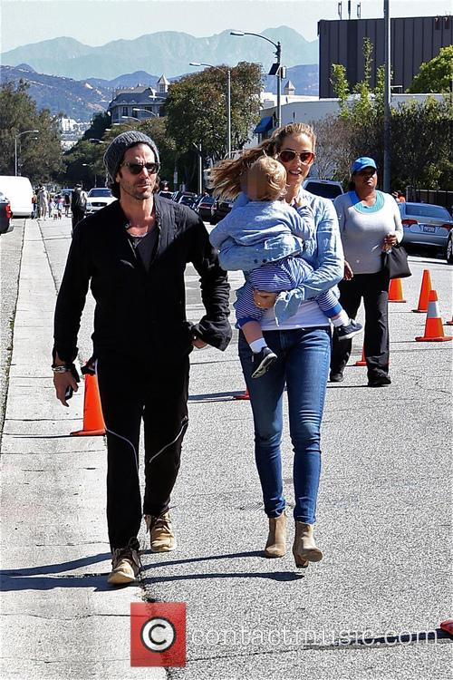 Elizabeth Berkley, Greg Lauren and Sky Lauren 5