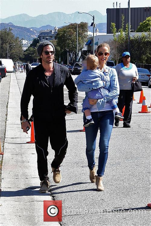 Elizabeth Berkley, Greg Lauren and Sky Lauren 6