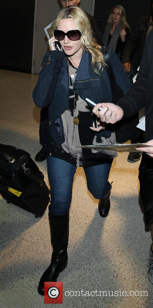 Kate Winslet At LAX