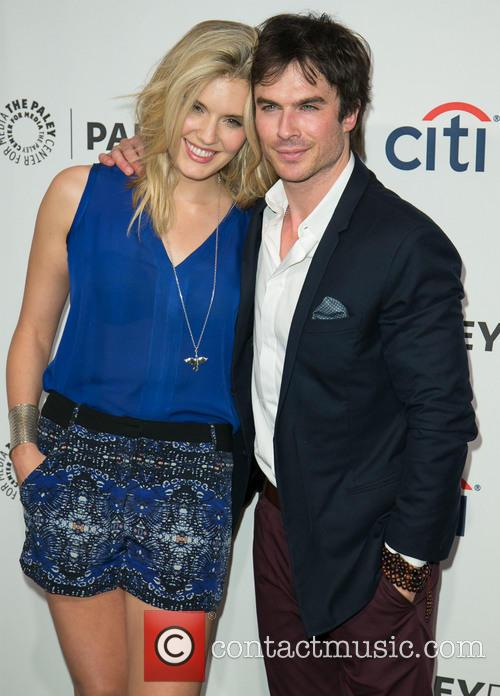 Maggie Grace and Ian Somerhalder 4