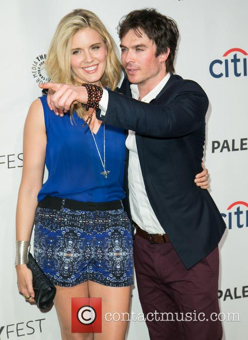 Maggie Grace and Ian Somerhalder 5