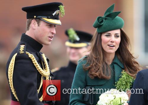 The Duchess of Cambridge and Prince William 7