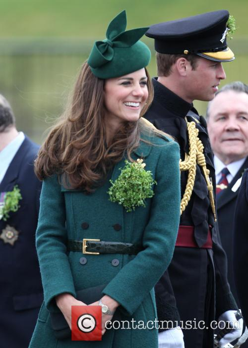 The Duchess of Cambridge and Prince William 8