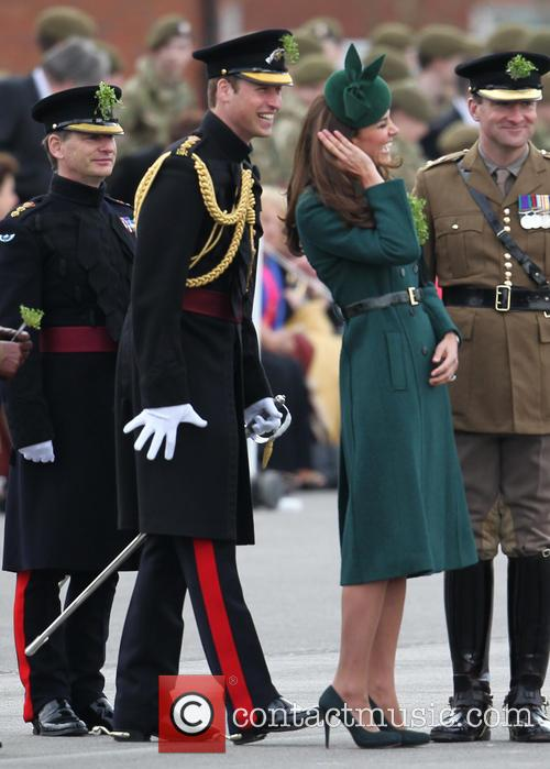 The Duchess of Cambridge and Prince William 9