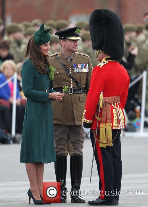 the duchess of cambridge st patricks day 4113422