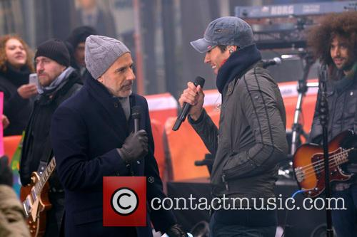 Enrique Iglesias Performing on Today Show