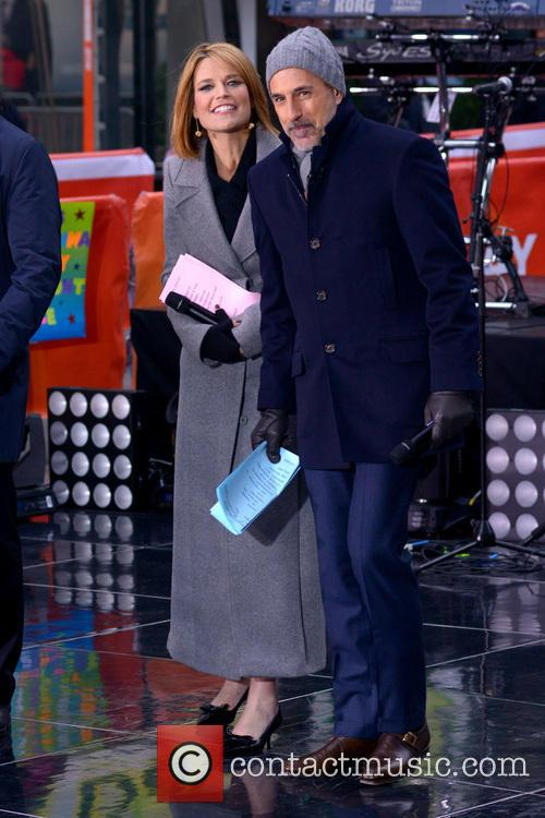 Savannah Guthrie and Matt Lauer 3
