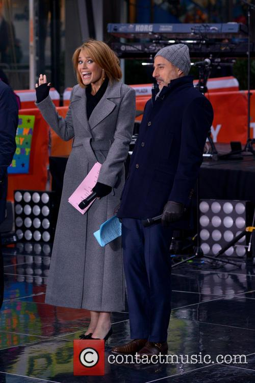 Savannah Guthrie and Matt Lauer 5