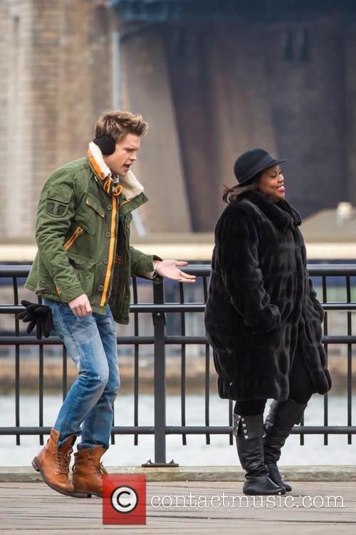 Chrod Overstreet and Amber Riley 5