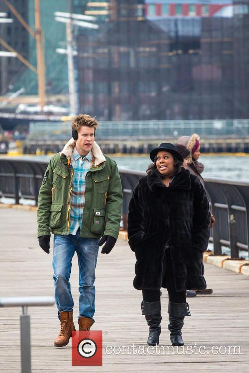 Chrod Overstreet and Amber Riley 7