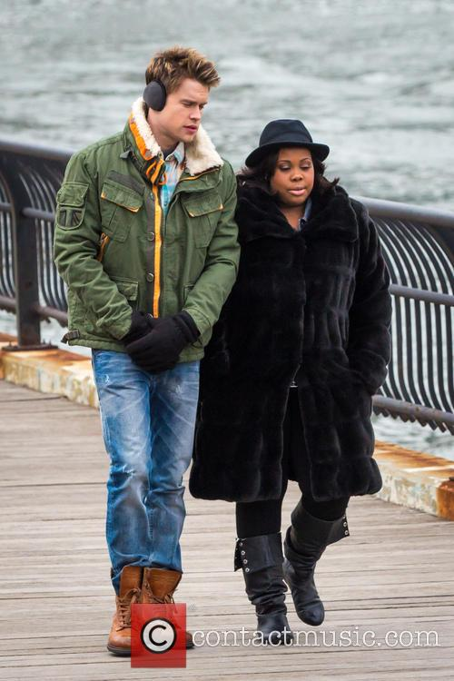 Chrod Overstreet and Amber Riley 8