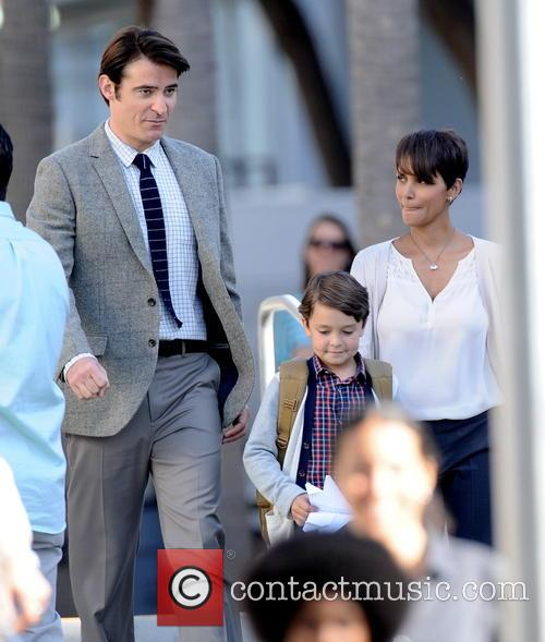 Halle Berry, Goran Visnjic and Pierce Gagnon 2