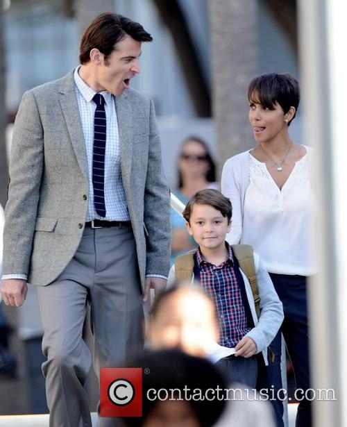 Halle Berry, Goran Visnjic and Pierce Gagnon 1