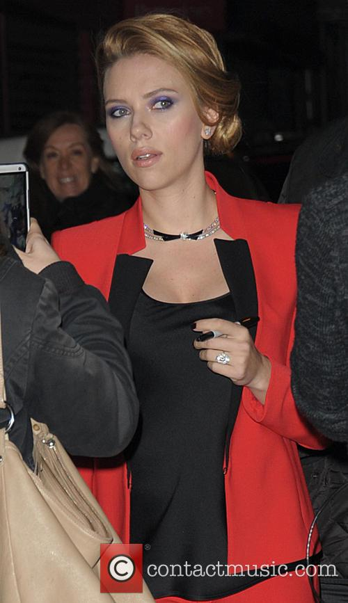 Scarlett Johansson, Paris Gare du Nord