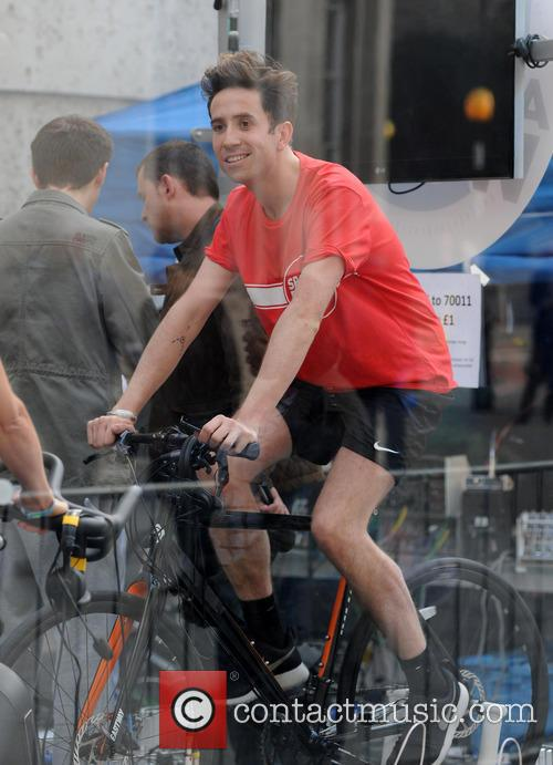 nick grimshaw sport relief at radio 1 4113223
