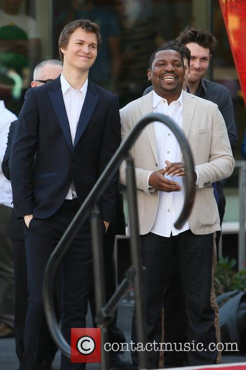 Ansel Elgort and Mekhi Phifer 3