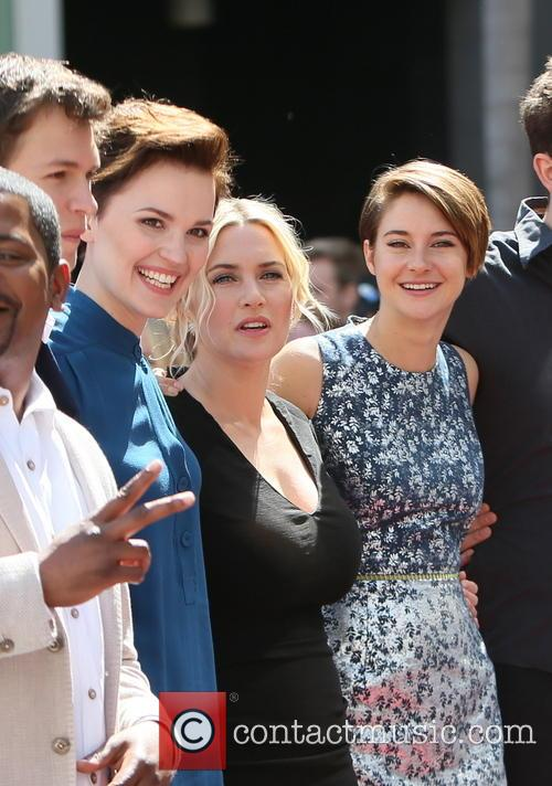Kate Winslet, Shailene Woodley and Veronica Roth 9